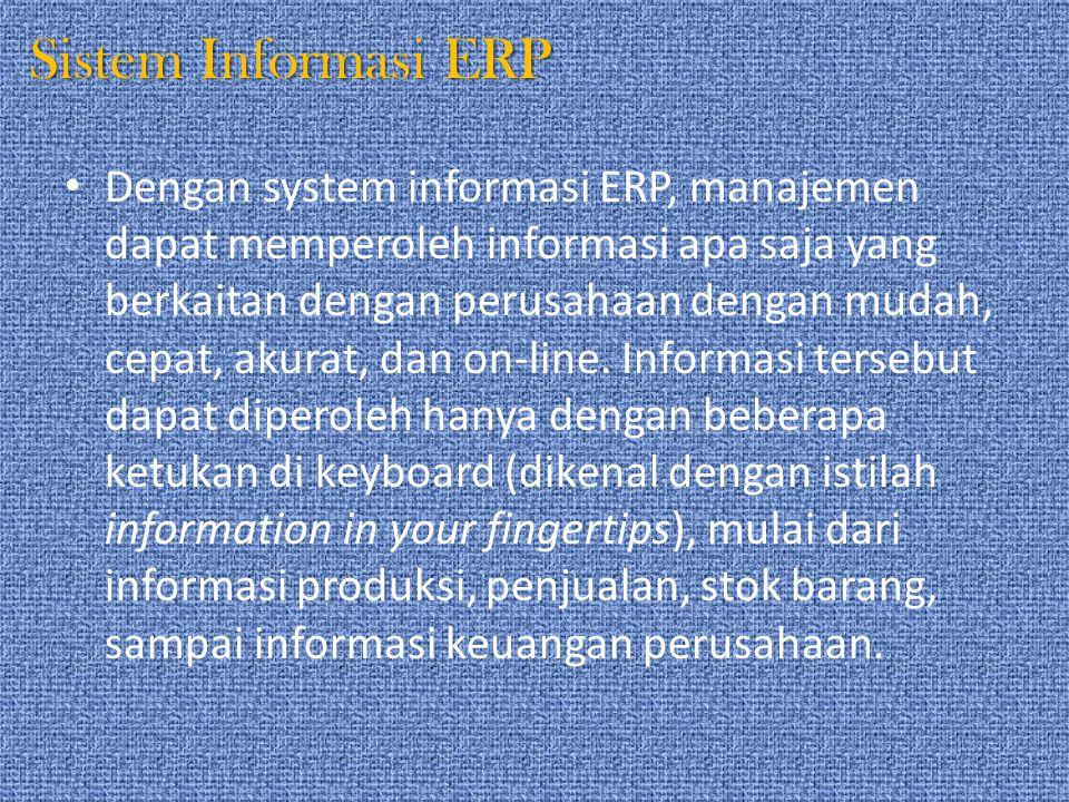 Sistem Informasi ERP