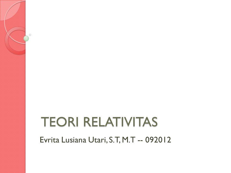 Evrita Lusiana Utari, S.T, M.T -- 092012