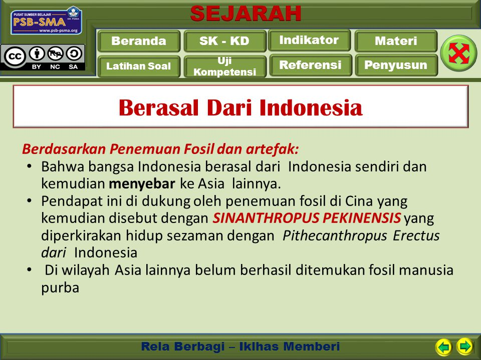 Berasal Dari Indonesia