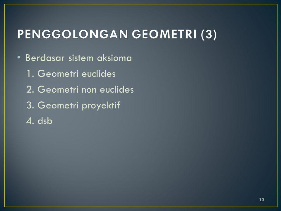 PENGGOLONGAN GEOMETRI (3)