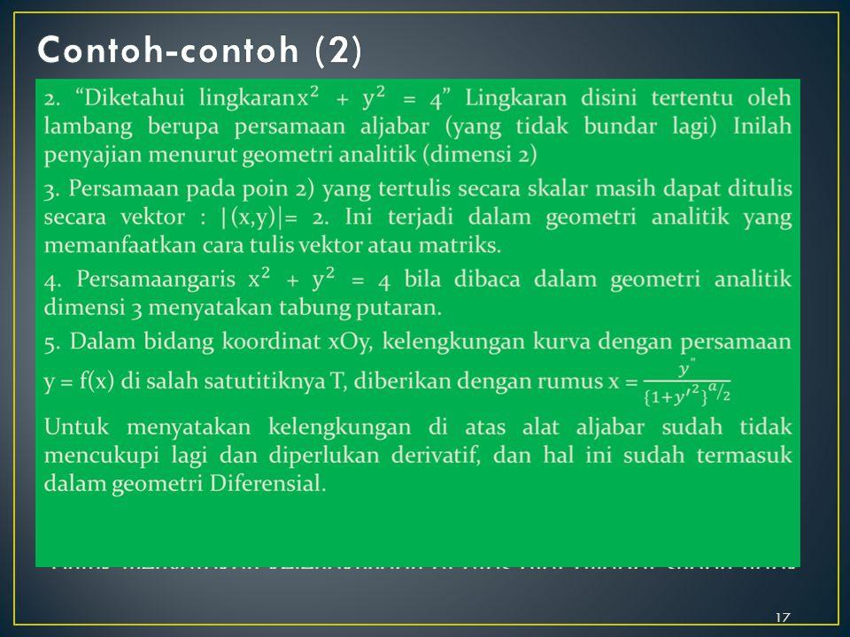Contoh-contoh (2)