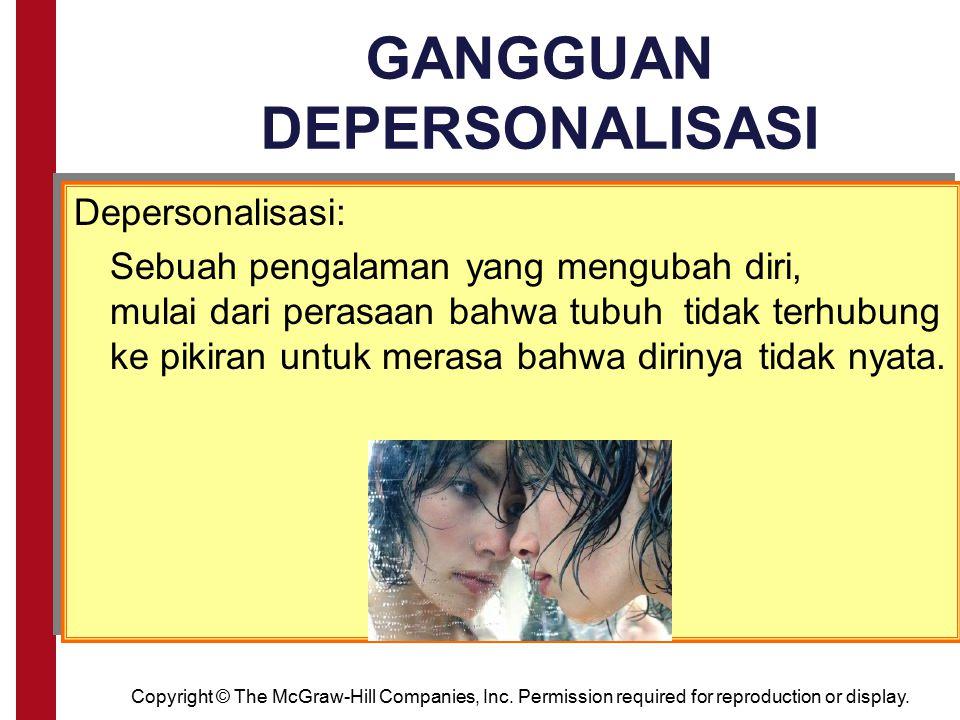 GANGGUAN DEPERSONALISASI