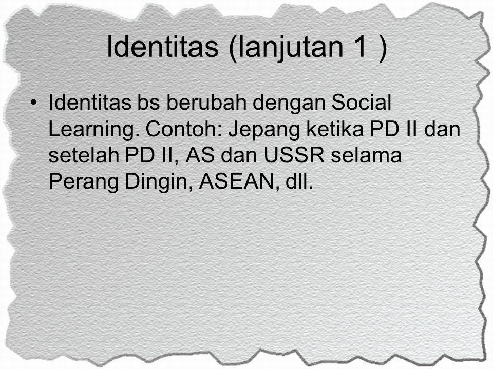 Identitas (lanjutan 1 )