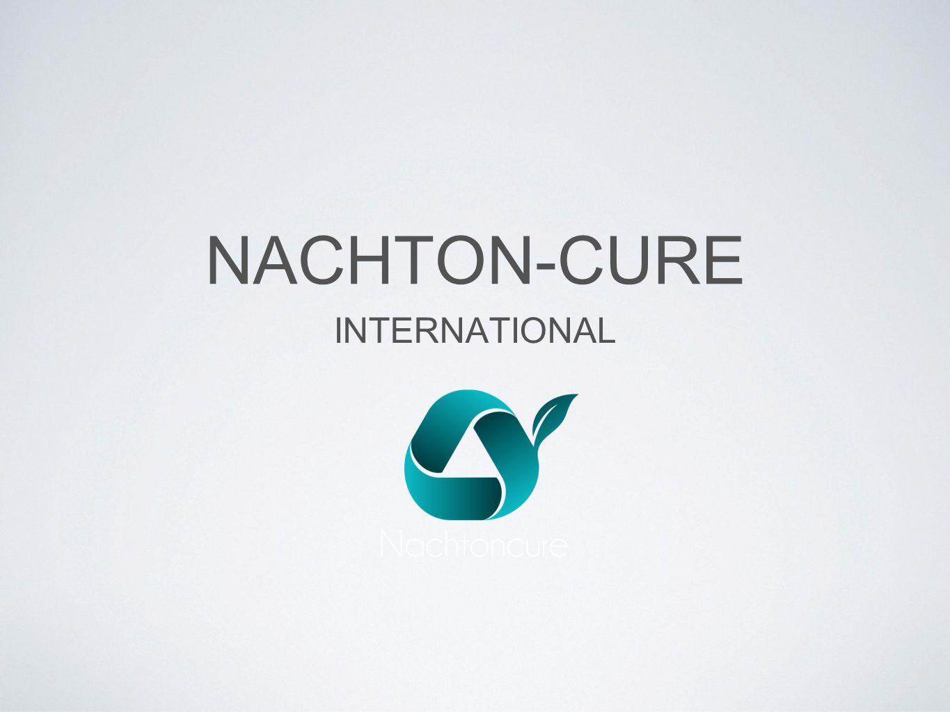 NACHTON-CURE INTERNATIONAL
