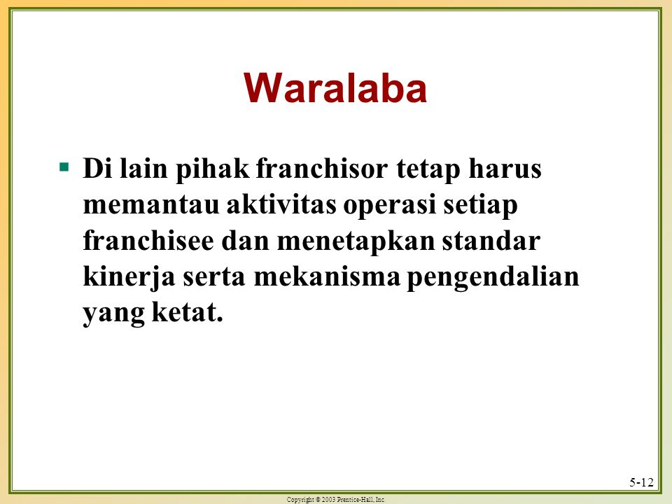 Waralaba