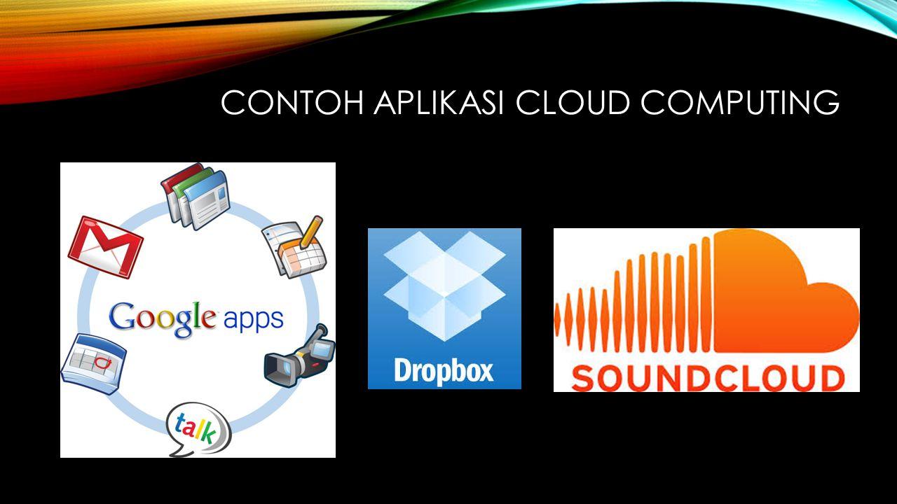 Contoh aplikasi cloud computing