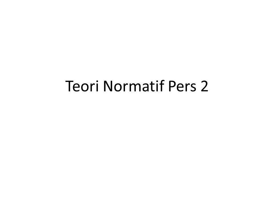 Teori Normatif Pers 2