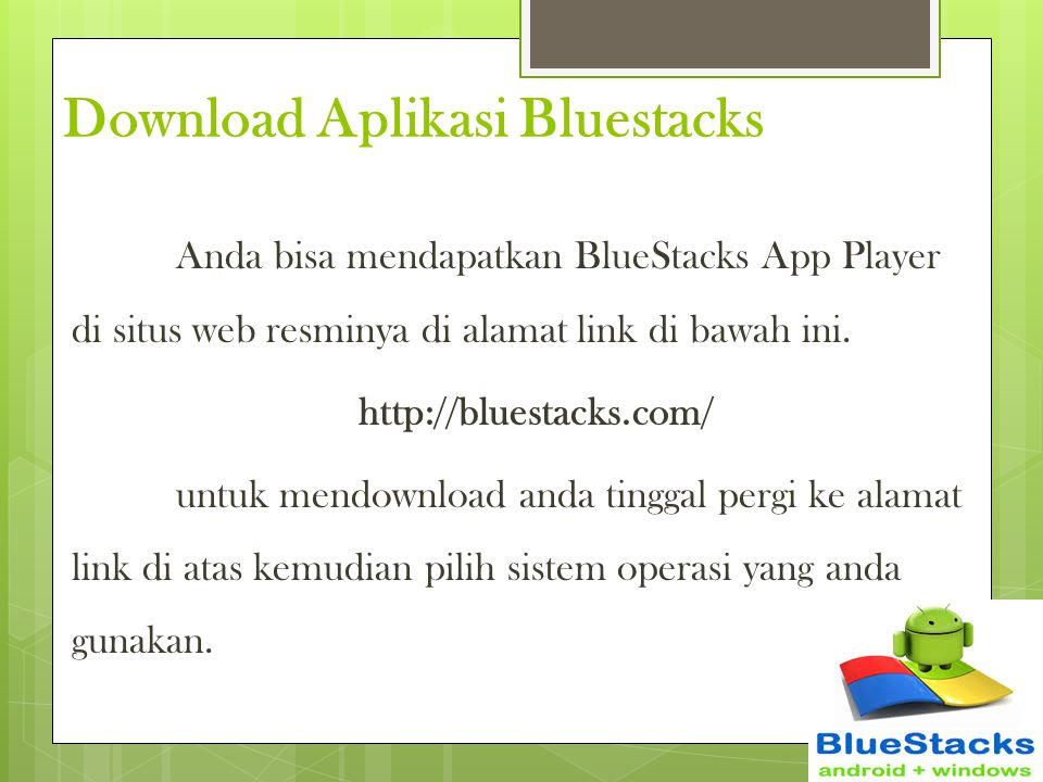 Download Aplikasi Bluestacks