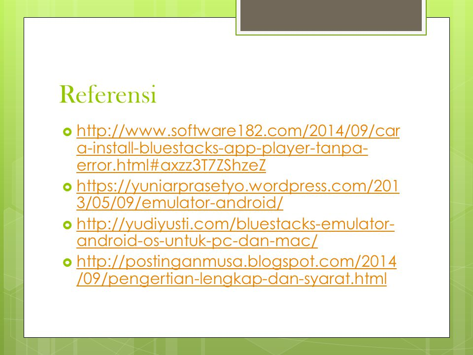 Referensi http://www.software182.com/2014/09/cara-install-bluestacks-app-player-tanpa-error.html#axzz3T7ZShzeZ.