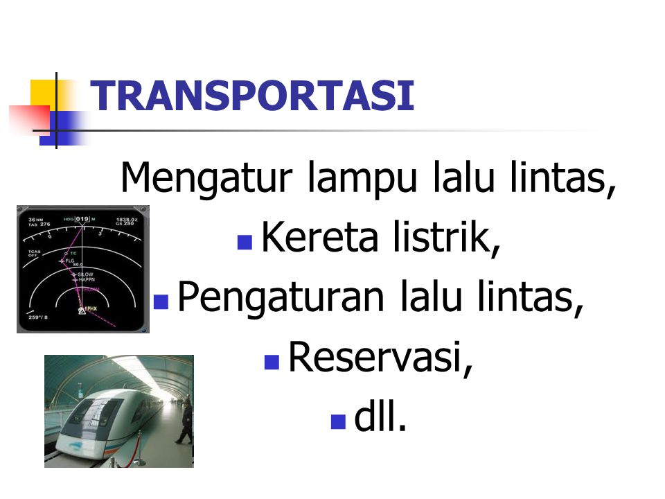 Mengatur lampu lalu lintas, Kereta listrik, Pengaturan lalu lintas,
