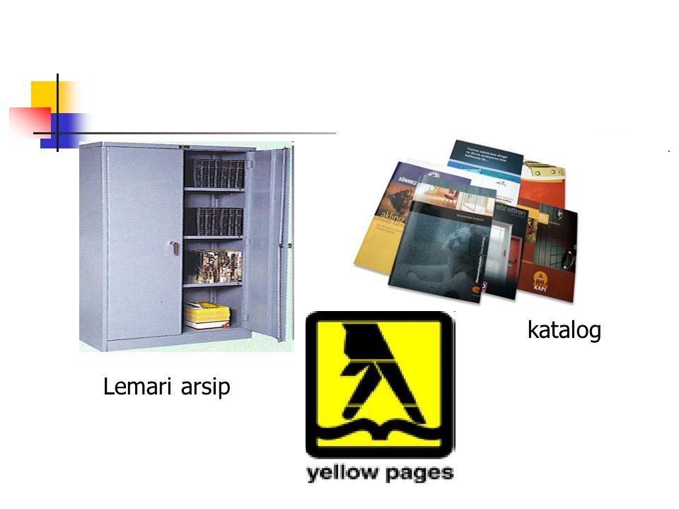 katalog Lemari arsip