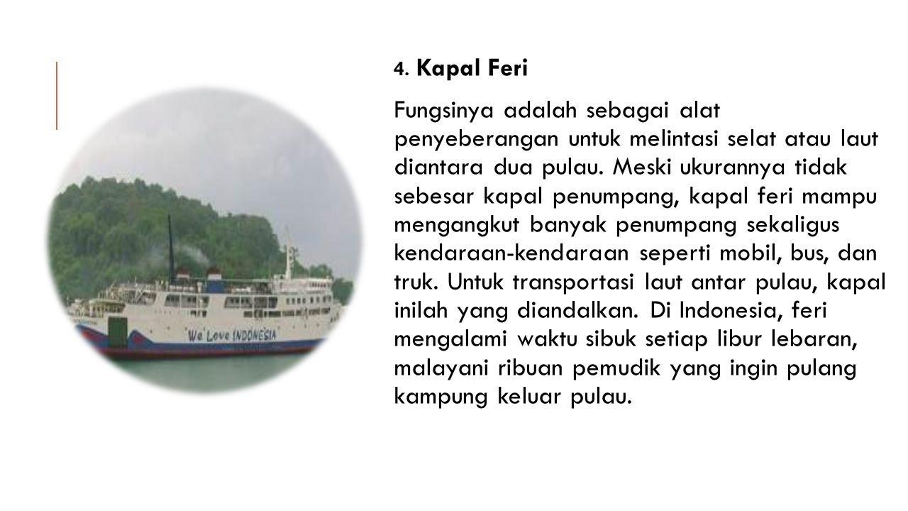 4. Kapal Feri