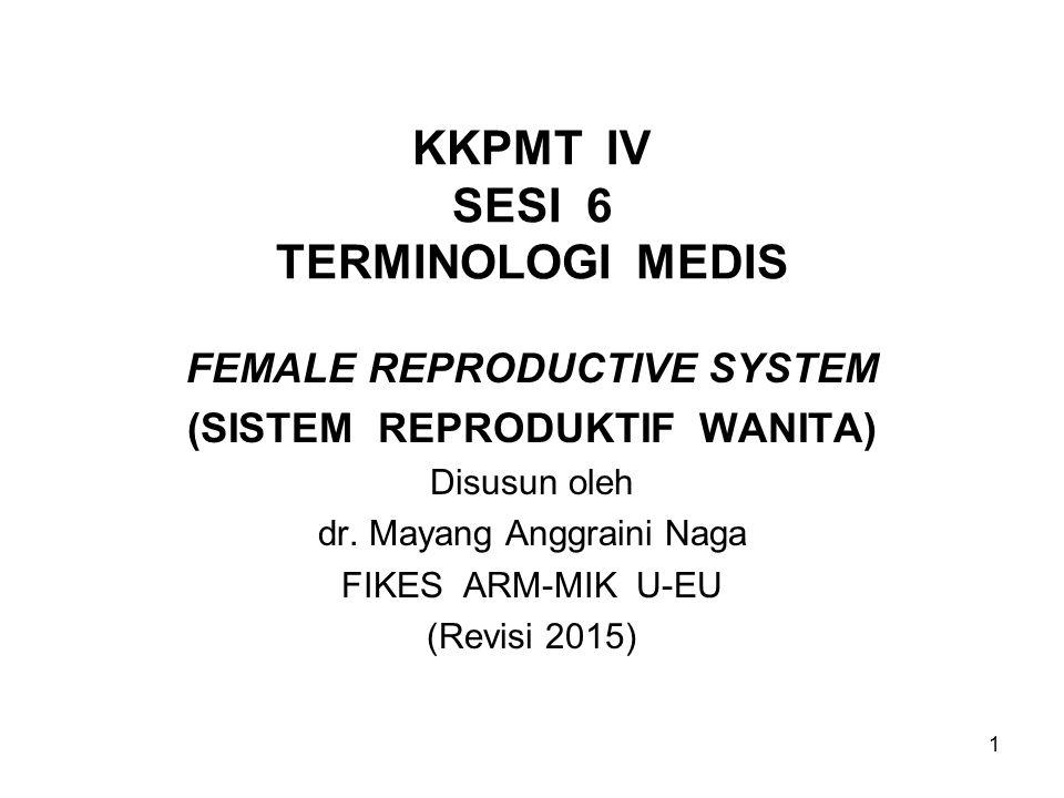 KKPMT IV SESI 6 TERMINOLOGI MEDIS