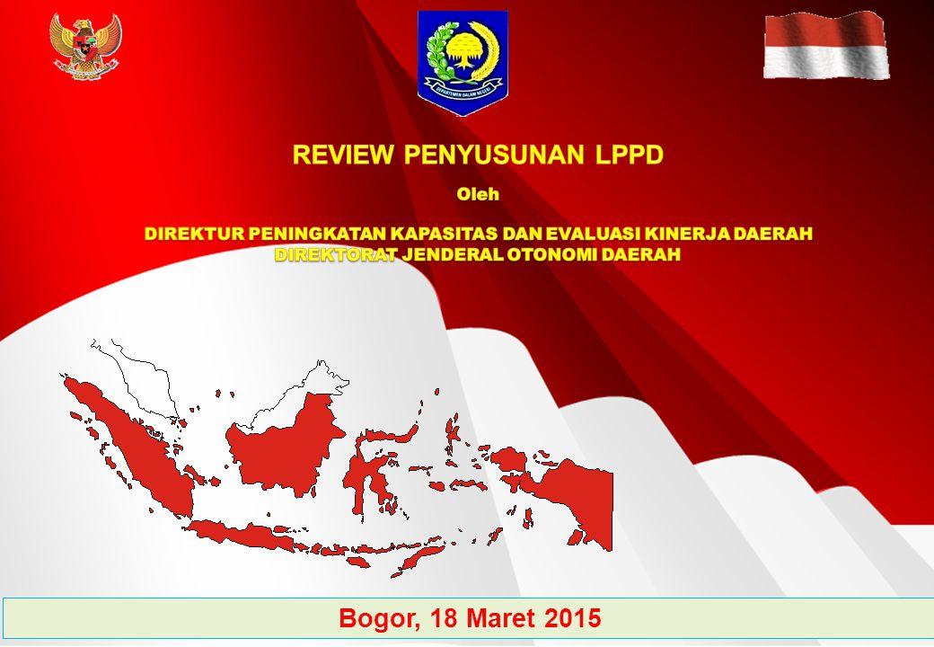 REVIEW PENYUSUNAN LPPD Bogor, 18 Maret 2015