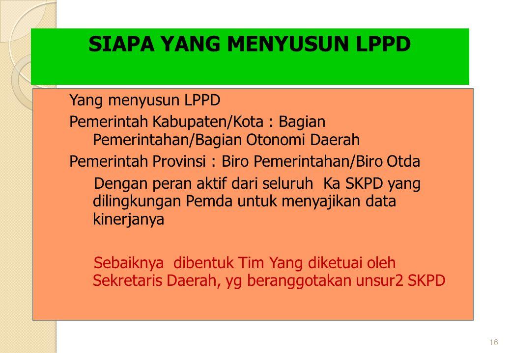 SIAPA YANG MENYUSUN LPPD
