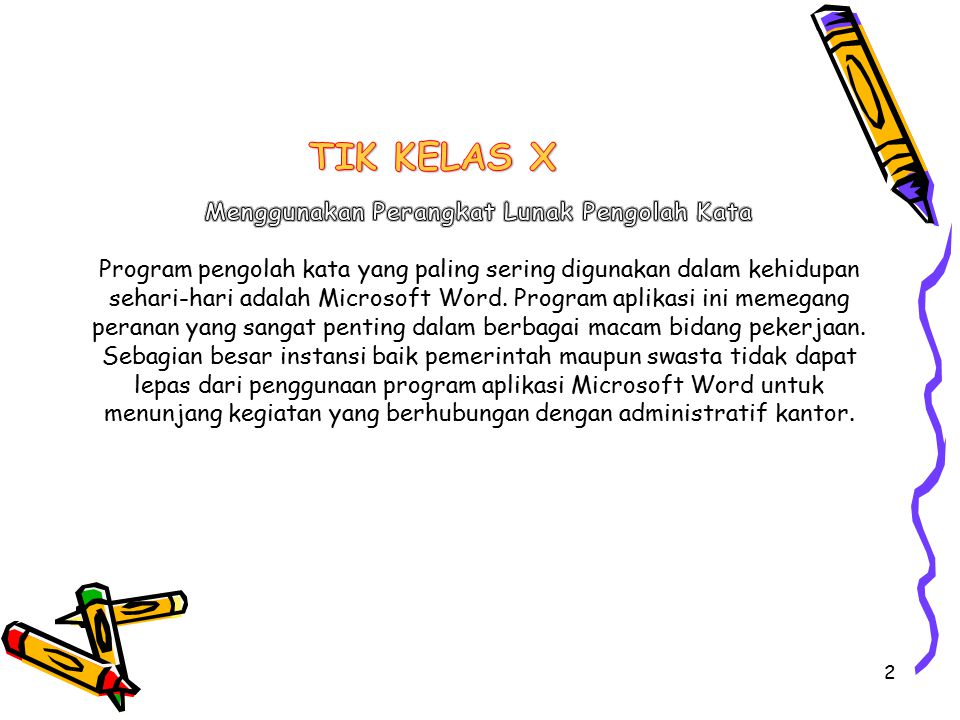 TIK KELAS X