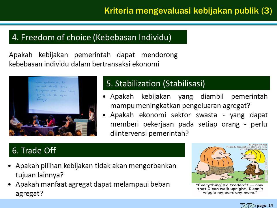 Kriteria mengevaluasi kebijakan publik (3)