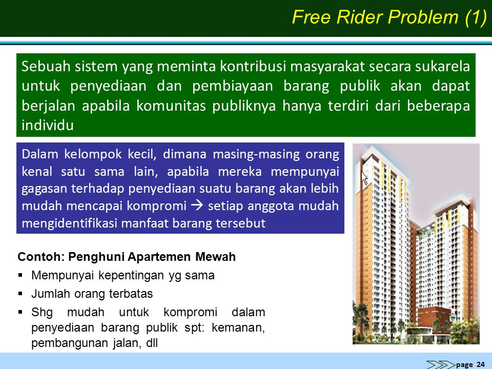 Free Rider Problem (1)