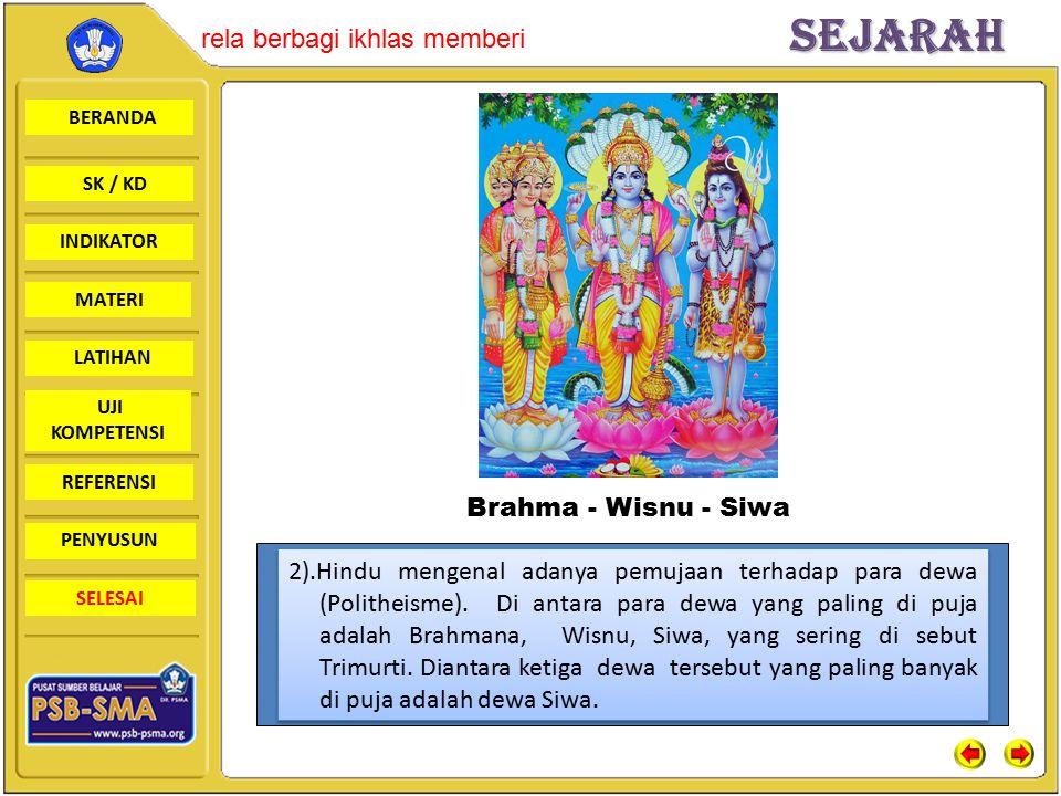 Brahma - Wisnu - Siwa