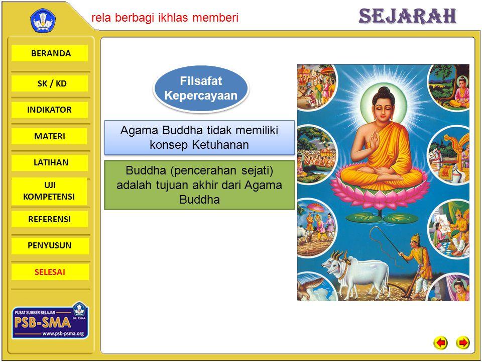 Agama Buddha tidak memiliki konsep Ketuhanan