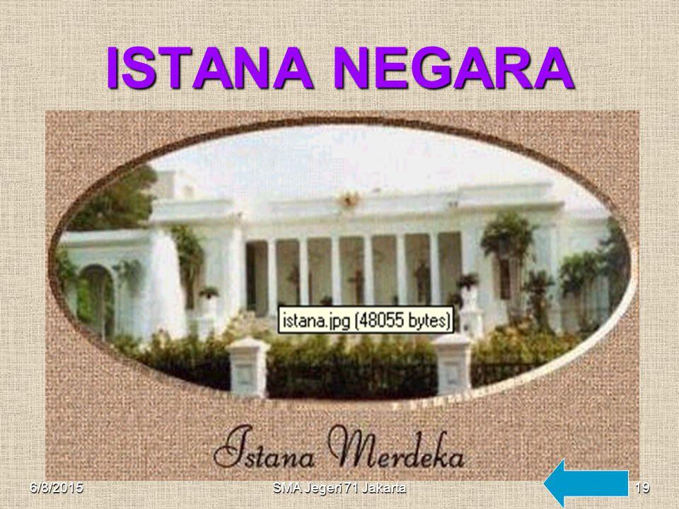ISTANA NEGARA 4/16/2017 SMA Jegeri 71 Jakarta