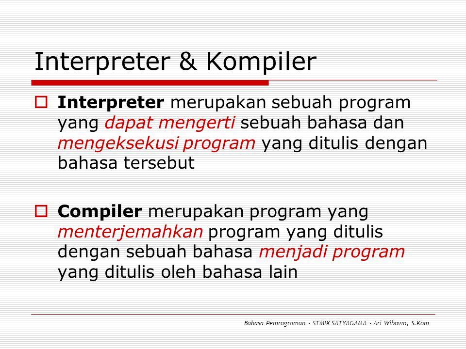 Interpreter & Kompiler