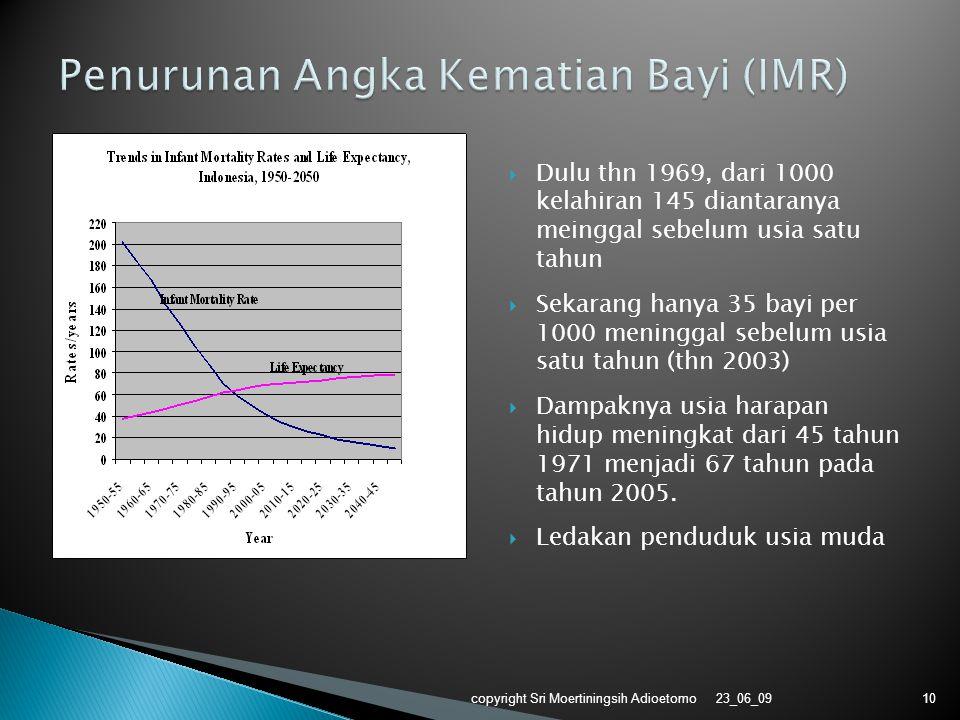 Penurunan Angka Kematian Bayi (IMR)