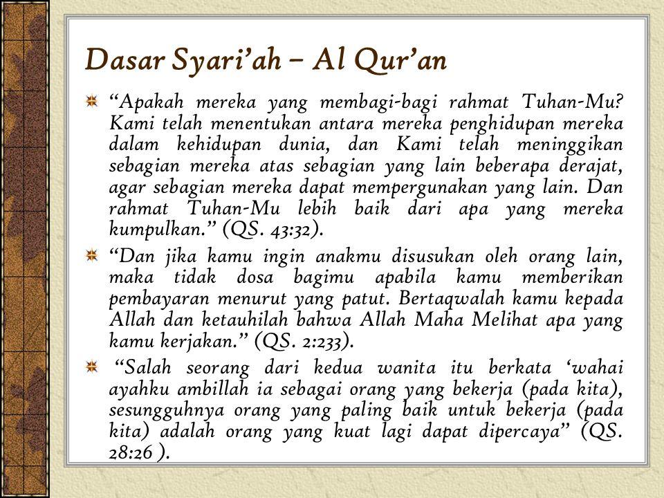 Dasar Syari'ah – Al Qur'an