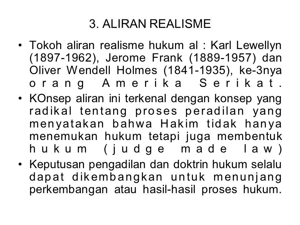 3. ALIRAN REALISME