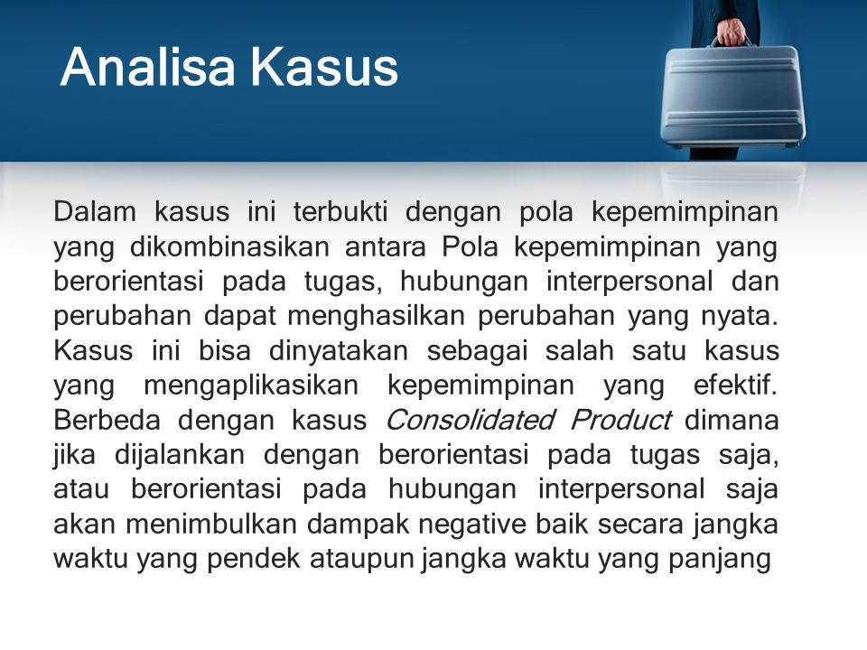 Analisa Kasus