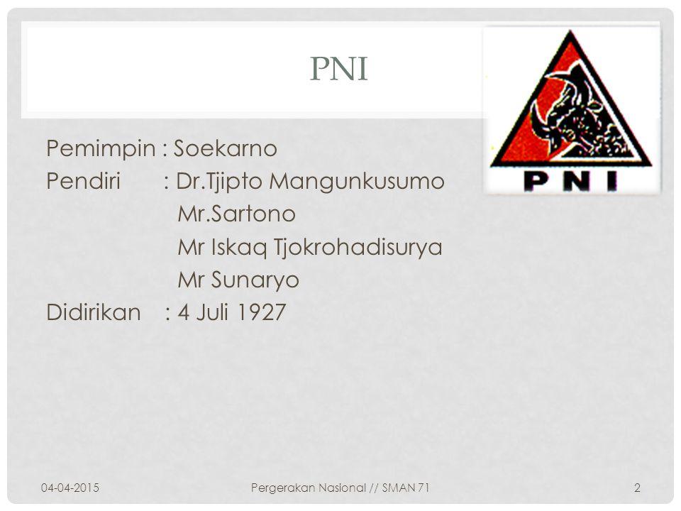 Pergerakan Nasional // SMAN 71