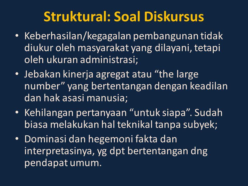Struktural: Soal Diskursus