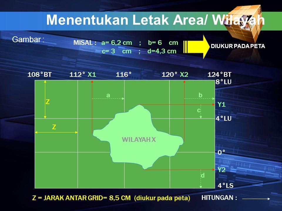 Menentukan Letak Area/ Wilayah