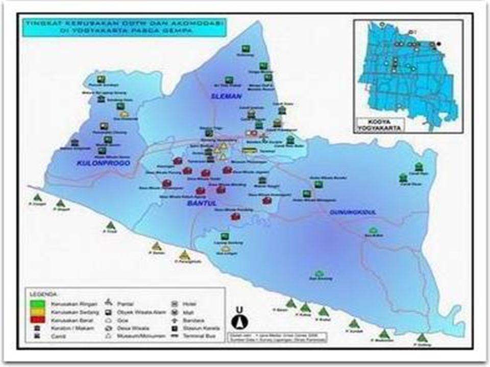 Tingkat Kerusakan Kota dan Akomodasi