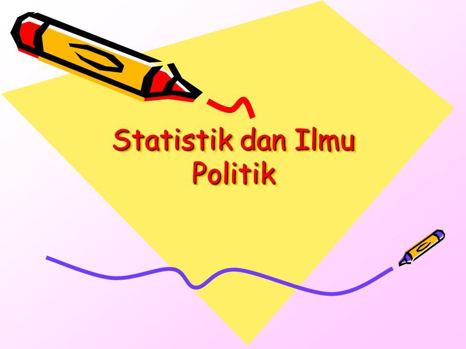 Statistik dan Ilmu Politik