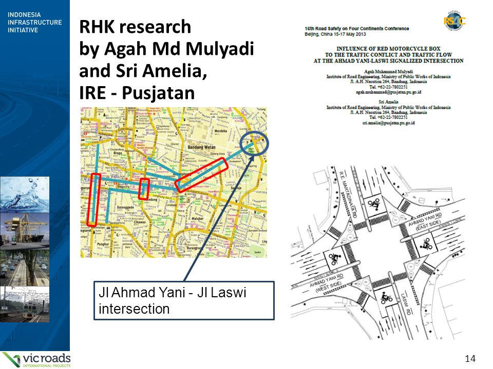 RHK research by Agah Md Mulyadi and Sri Amelia, IRE - Pusjatan