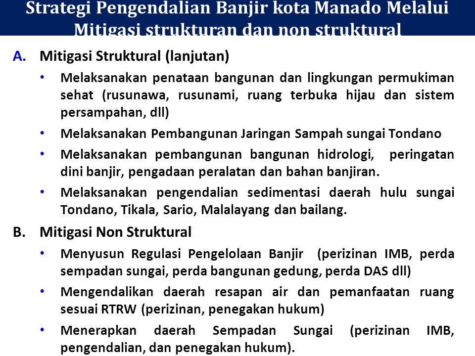 Strategi Pengendalian Banjir kota Manado Melalui