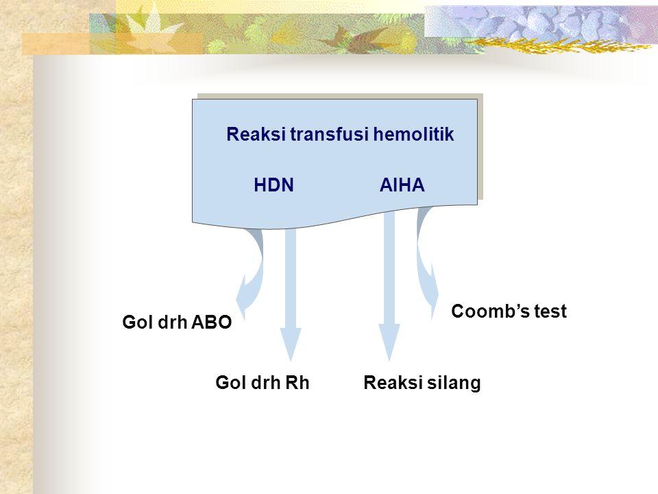 Reaksi transfusi hemolitik