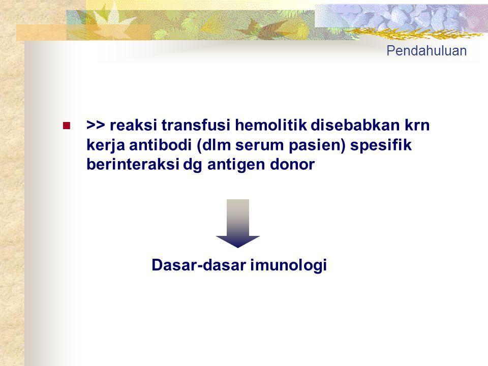 Dasar-dasar imunologi