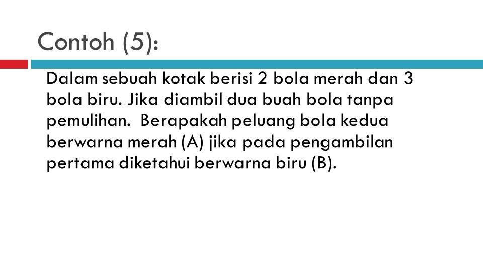 Contoh (5):