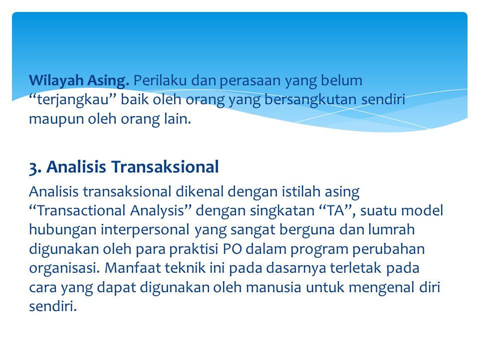 3. Analisis Transaksional