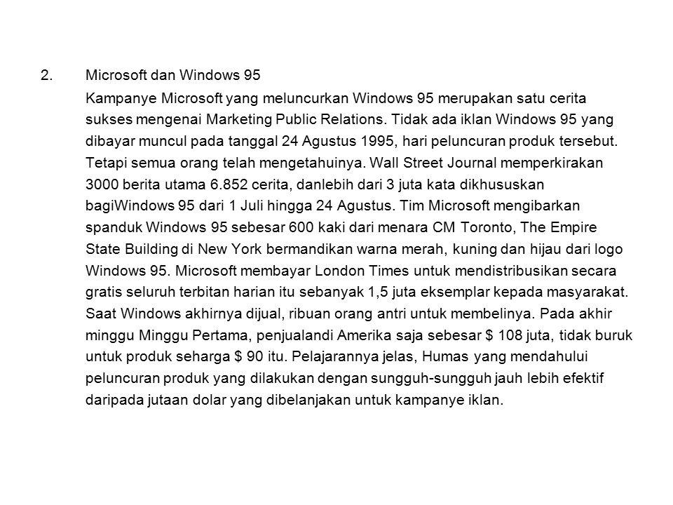 Microsoft dan Windows 95