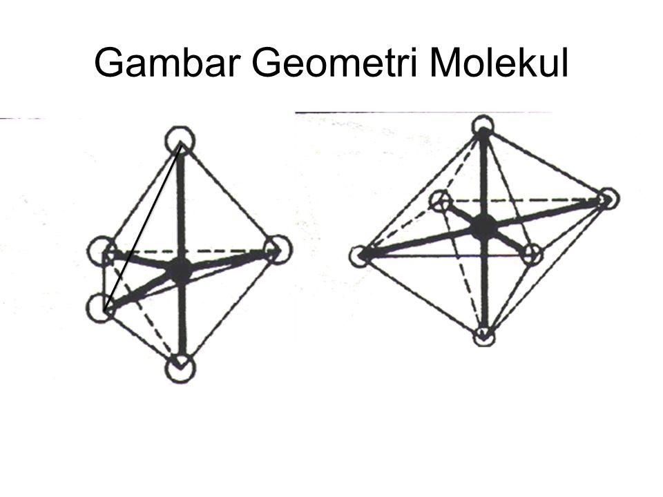 Gambar Geometri Molekul