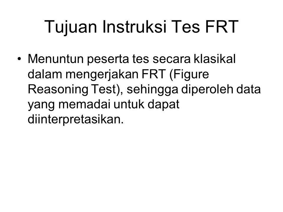 Tujuan Instruksi Tes FRT