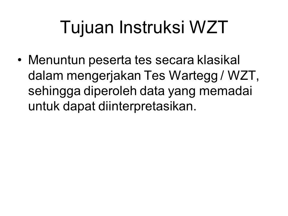 Tujuan Instruksi WZT