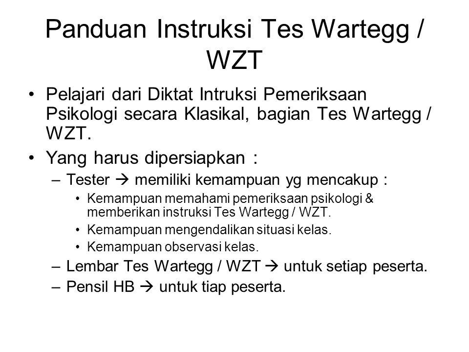 Panduan Instruksi Tes Wartegg / WZT