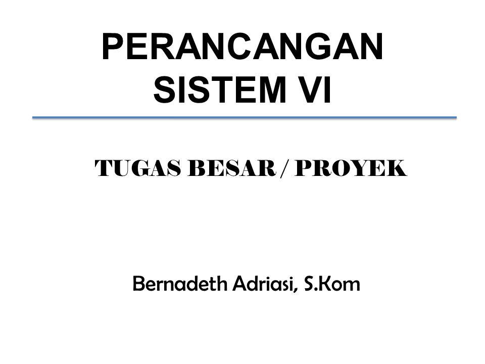 Bernadeth Adriasi, S.Kom