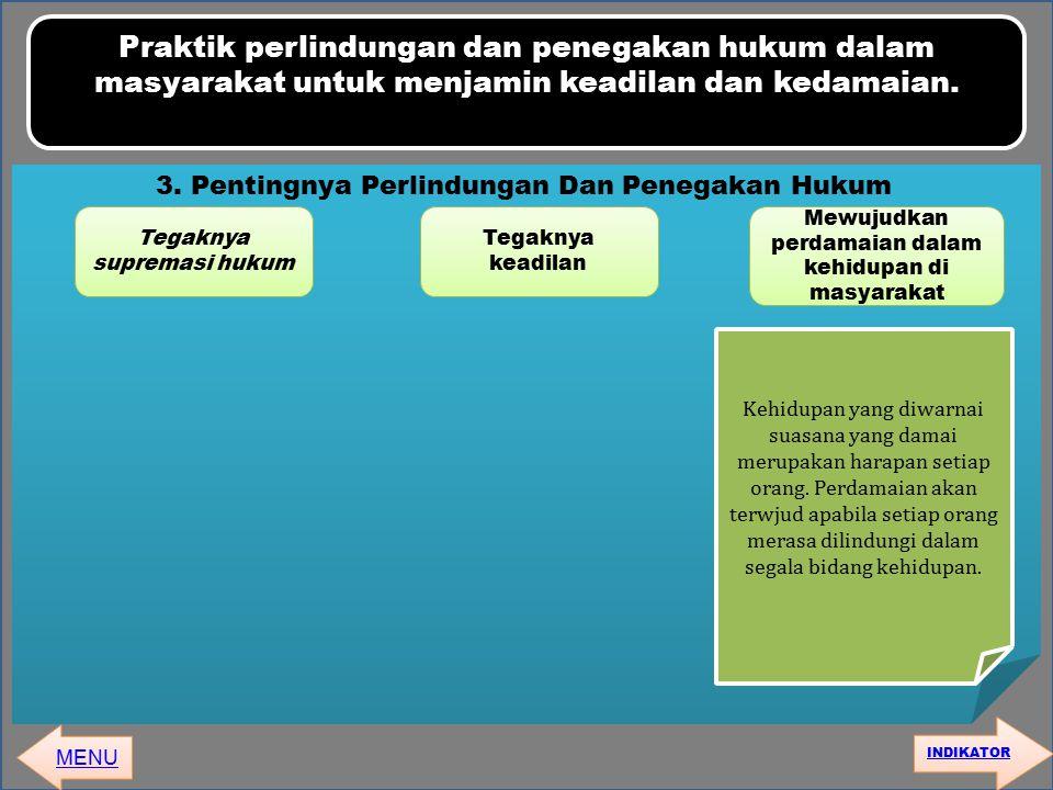 3. Pentingnya Perlindungan Dan Penegakan Hukum