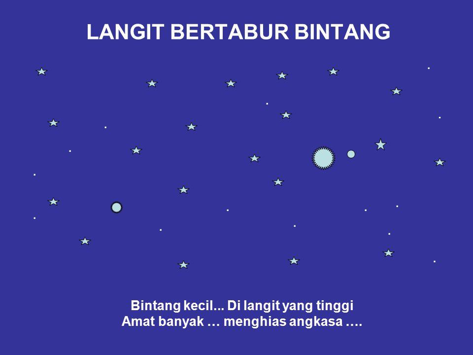 LANGIT BERTABUR BINTANG