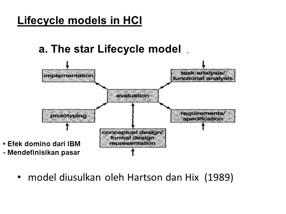 The star Lifecycle model